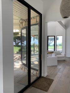 Black Screen Doors in Malibu