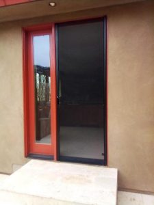 Bonze retractable screen doors